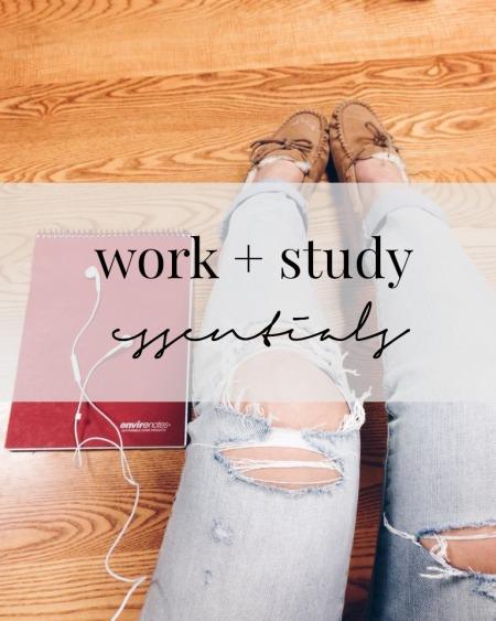 study essentials edit